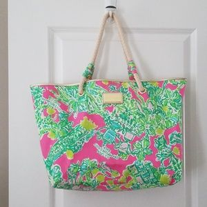 NIP Lilly Pulitzer 2014 US Open Shoreline Tote